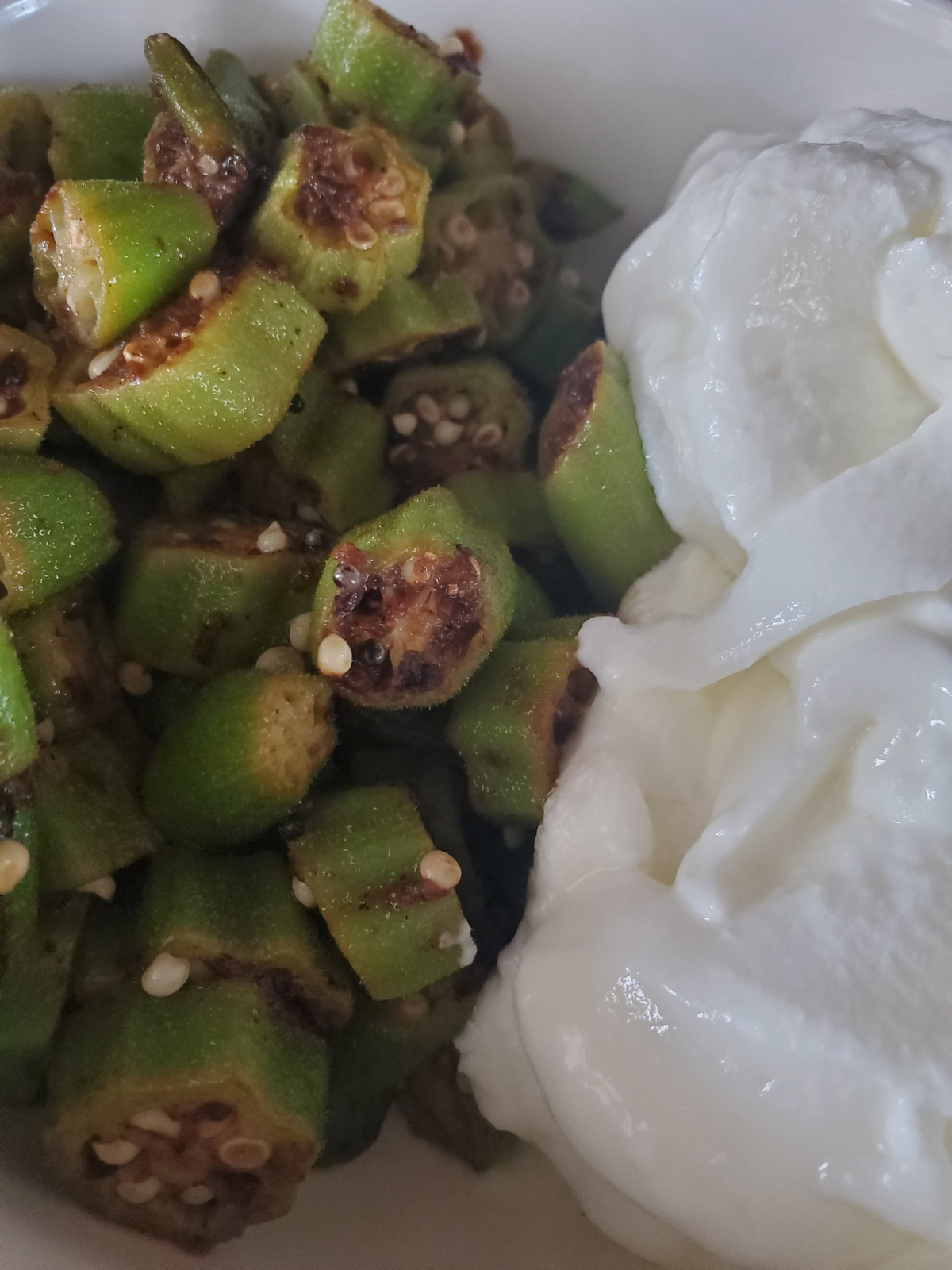 Indian Fried Okra